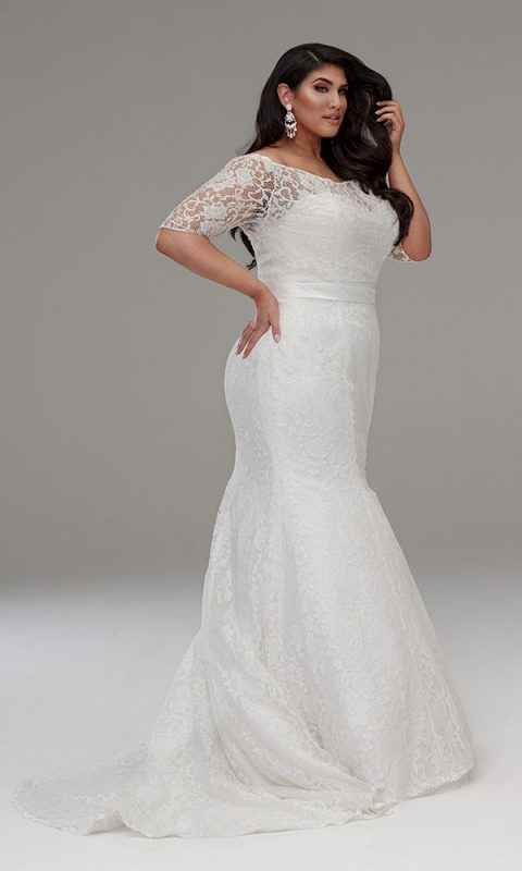plus size wedding dresses in Melbourne