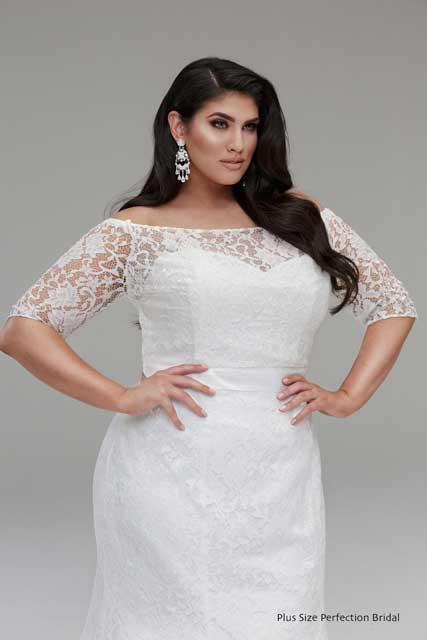 Plus size wedding dresses melbourne plus size bride for Wedding dress jackets plus size