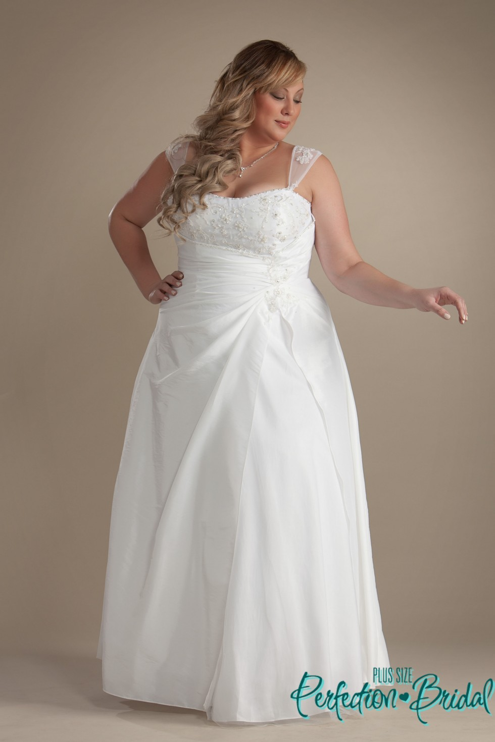 Affordable Wedding Gowns: Plus Size Wedding Gowns Casey