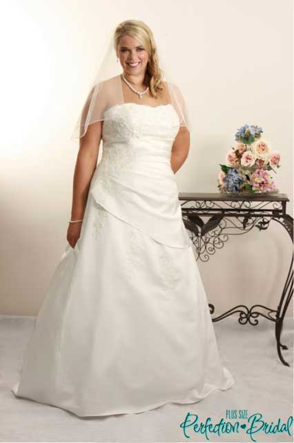 Colored wedding dress iris plus size wedding dresses for Colored plus size wedding dresses